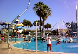 Water parks Barcelona