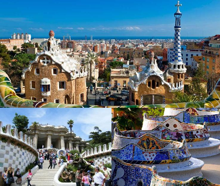 Park Guell - Tourism in Barcelona