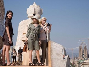 Vicky Cristina Barcelona view from La Pedrera