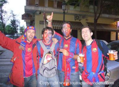 F.C.Barcelona supporters
